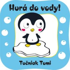 Tučniak Tomi - kúpacia knižka