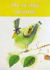 Omaľovánka - Ako sa vtáci spriatelili - omaľovánka s básničkami