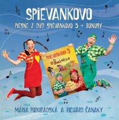 CD: Piesne z DVD Spievankovo 5 + Bonusy