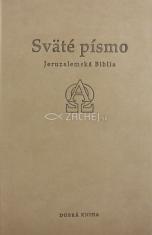 Sväté písmo - Jeruzalemská Biblia (stredná, sivá)