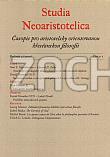 Studia Neoaristotelica 2/2008 - 2008/2