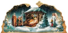 Betlehem: papierový výsek (SB-160)