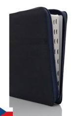 Bible ČEP s DT, veľký formát se zipem