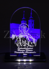 Oltárik: Sedembolestná Panna Mária - s led podsvietením