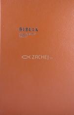 Biblia - katolícka, veľký formát (v koži, so zlatorezom) - Starý a Nový zákon
