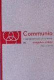 Communio 3/2016 - Evangelium a město - Mezinárodní katolická revue 20. ročník - svazek 80