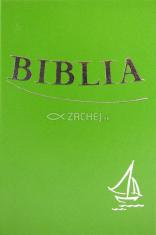 Biblia - zelená (tvrdá väzba) - Sväté Písmo Starého a Nového zákona