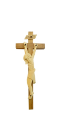 Kríž: drevený, štylka - 17 cm (KDZ005)