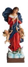 Soška: Panna Mária rozväzujúca uzly (4025/M251) - 15 cm - F8819
