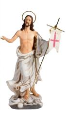 Socha: Zmŕtvychvstalý Kristus - 20 cm (4032/G45)