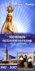 Záložka: 100 rokov od zjavení vo Fatime
