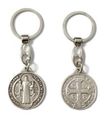 Kľúčenka: Benediktínska, kovová (KZ005)