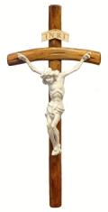 Kríž: drevený - 46 cm (KDZ007)