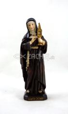 Soška: Svätá Klára (0372) - 12 cm