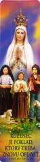 Záložka: Ruženec je poklad... (Z002) - Ako sa modlí ruženec, laminovaná
