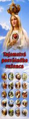 Záložka lam. (Z001) Tajomstvá posvätného ruženca - Ako sa modlí ruženec
