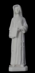 Soška: Svätá Faustína - 15,5 cm (414) - alabaster