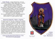 Skladačka: Sv. Martin - Litánie a modlitba