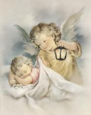 Plagát: Anjel (SF003) - Anjel s lampášikom