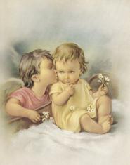 Plagát: Anjel (SF002) - Anjelik a dieťatko