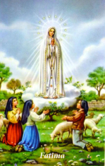 Obrázok: Fatima (379/226) - Modlitba anjela; laminovaný