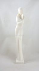 Socha: Madona moderná - 33 cm (829) - alabaster