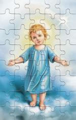 Puzzle 40 (PU012) - Malý Ježiško