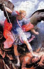 Puzzle: Michal archanjel (PU010) - 40 dielov