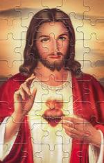 Puzzle: Srdce Pána Ježiša (PU004) - 40 dielov