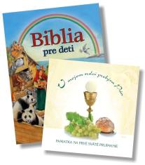 Sada: Biblia pre deti + V mojom srdci prebýva Pán