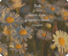 Podložka pod myš: Boh je naše útočište...