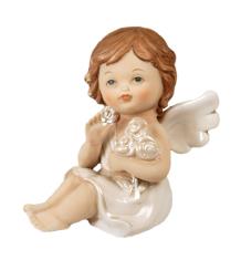 Anjel porcelánový (PB11635B)