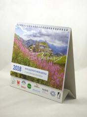 Kalendář 2018 s Radiem Proglas a texty Michala Altrichtera - stolní kalendář s církevním a občanským kalendáriem