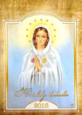 Katolícky kalendár 2018 nástenný (Via)