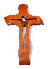 Kríž: drevený, čerešňa - veľký (237)