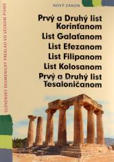 Prvý a Druhý list Korinťanom... (senior verzia) - Ekumenický preklad vo veľkom písme