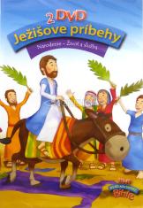 2DVD - Ježišove príbehy: Narodenie, Život a služba - 2-dielny animovaný film pre najmladšie deti zo série Jesus Bible Stories
