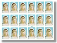 Samolepky - hárok (34) PMM