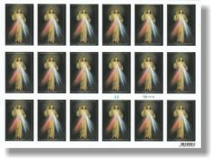 Samolepky: Božie milosrdenstvo (33) - hárok