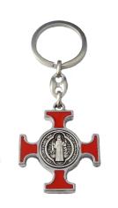 Kľúčenka: Benediktínska - červená (KP014NS)