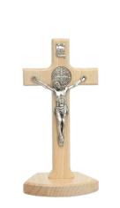 Kríž drev. na postavenie (KSZ02) Benediktínsky - prírodný