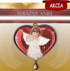 Obrázok na dreve: Strážny anjel (GAWP02)