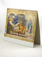 Katolícky kalendár 2018 (stolový) / VIA