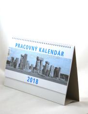 Kalendár 2018 pracovný veľký (stolový)