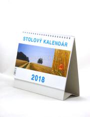 Kalendár 2018 pracovný malý (stolový)