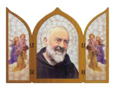 Triptych: Páter Pio (1124/S0071)