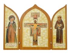 Triptych: Františkánsky kríž (1124/G0041)