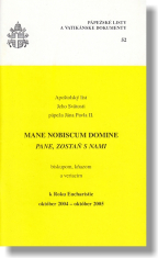 Mane nobiscum domine (PL52) - Pápežské listy a vatikánske dokumenty 52