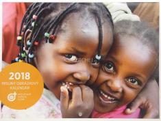 Kalendár misijný obrázkový 2018 (nástenný)