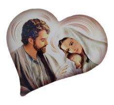 Obraz na dreve: Sv. rodina - srdce (ODZ034)